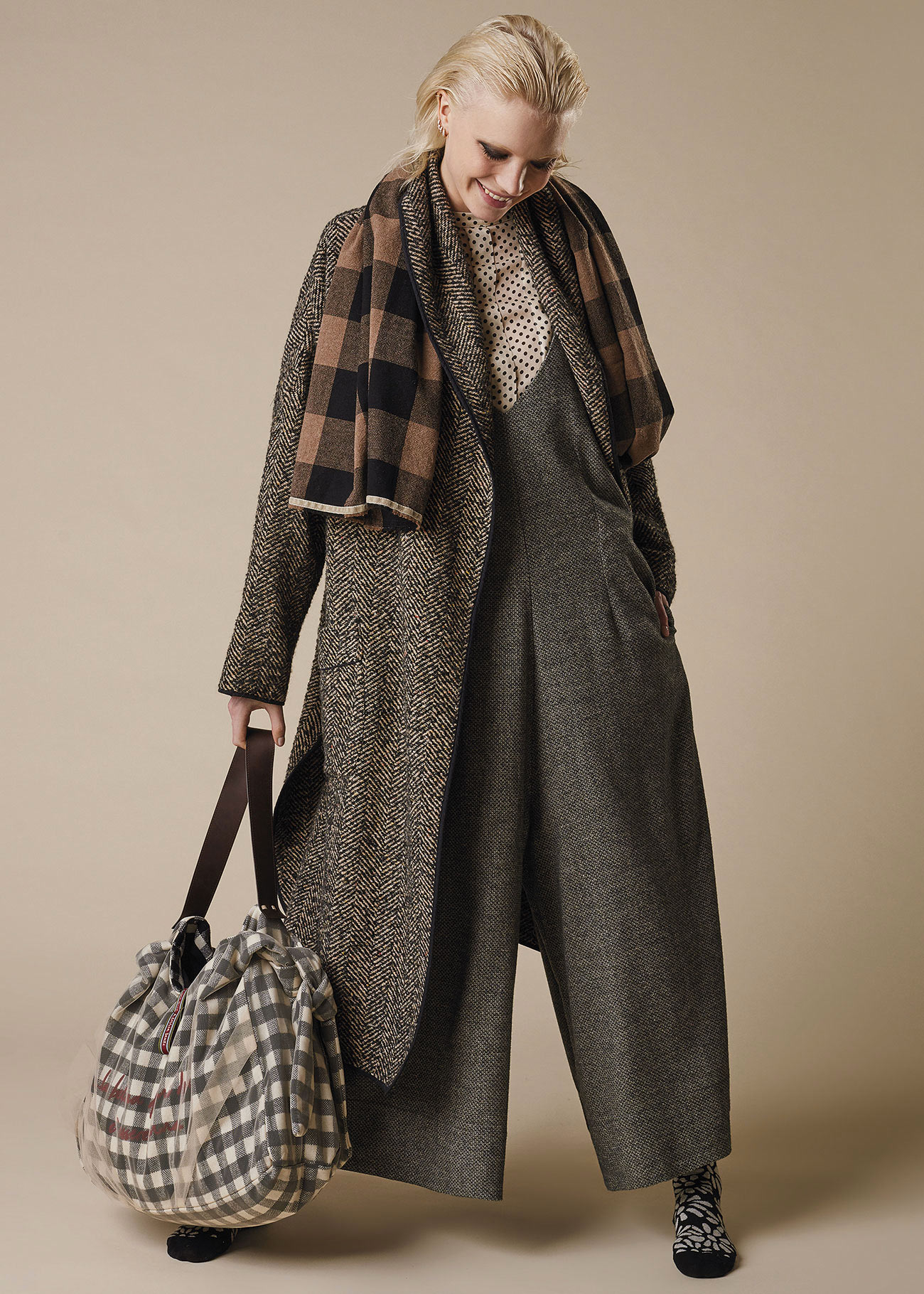 Shawl coat with belt ALESSIA SANTI   Coat   35041029115-01