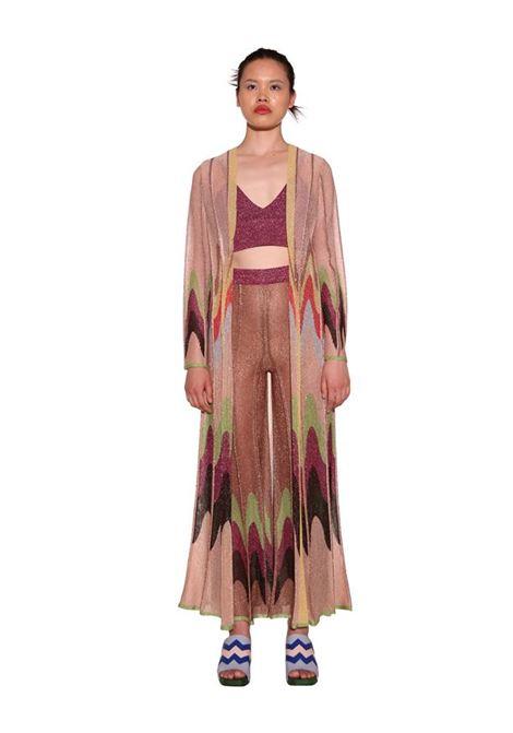 Pleated effect lurex palazzo trousers M MISSONI | Pants | 2DI00306/2K009DL302V